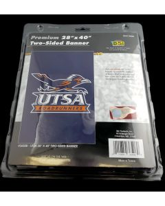 NCAA University of Texas at San Antonio (UTSA) Banner Two-Sided 28Inch x 40Inch