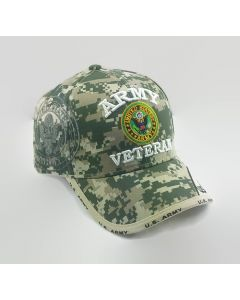 United States Army VETERAN Hat with Seal