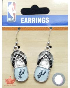 NBA San Antonio Spurs Earrings - Flip Flops