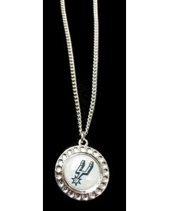 NBA San Antonio Spurs Dimple Pendant (Necklace)