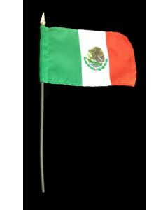 Mexico Flag 4 Inch x 6 Inch - Only Sold by the Dozen