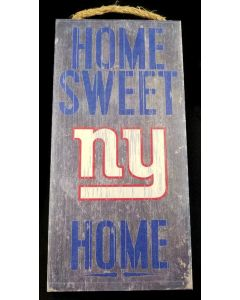 NFL New York Giants - Sweet Home Sign