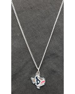 NFL Houston Texans Necklace State Design(470-32)