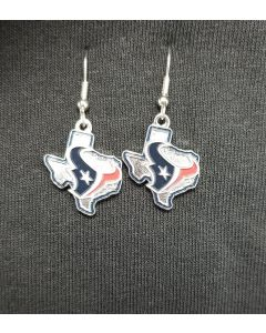 NFL Houston Texans Earring State Design(469-32)