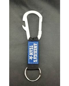 NFL Dallas Cowboys ''AMERICA'S TEAM'' K/C Carabiner