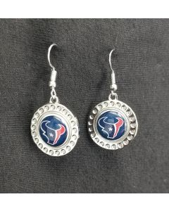 NFL Houston Texans Dimple Earring