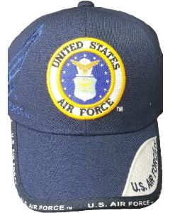 United States Air Force Hat - Woven Seal - Blue 21183