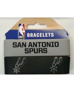 NBA San Antonio Spurs - Bracelet - 2 Pack