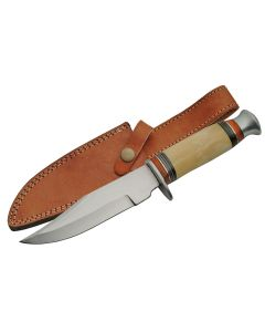"Knife 203358- BO 10"" Bone Hunting Knife"