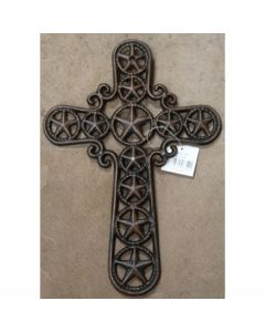 Texas Decor - Cast Iron Star Cross 56354