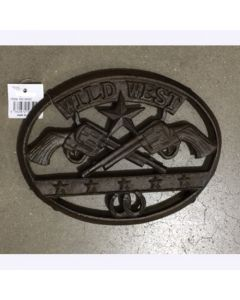 Texas Decor - Cast Iron Wild West Trivet 56592