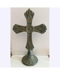 Texas Decor - Cast Iron Standing Cross 56588
