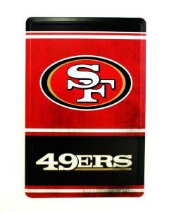 NFL San Francisco 49ers Tin Sign