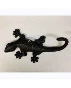 Texas Decor - Cast Iron Lizard Hook 56705