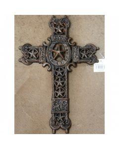 Texas Decor - Cast Iron Cross 56355