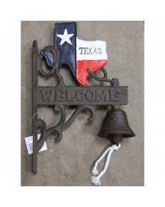 Texas Decor - Cast Iron Texas Bell 56360