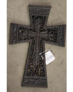 Texas Decor - Cast Iron Cross 56408
