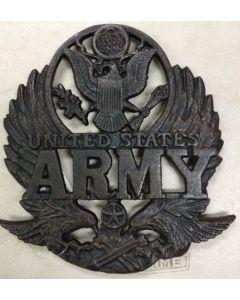Texas Decor - Cast Iron Army Trivet 56485