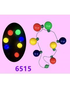 Christmas Disco Ball Necklace 6515 SOLD BY THE DOZEN