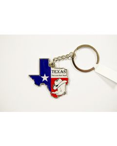 KC (Keychain) 66464 Texas Map SOLD BY THE DOZEN
