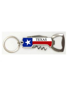 KC (Keychain) 66465 Texas Wine Opener SOLD BY THE DOZEN