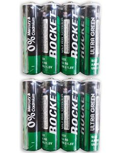 AA Battery / AA Batteries - Rocket Brand - Sold by the Box (24 Batteries per box)