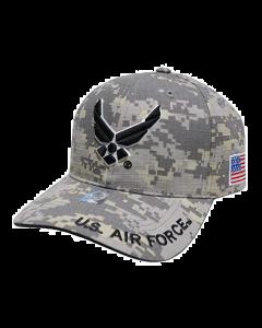 U.S. Air Force Wings Hat - Digital Camo A04AIA02-ACM
