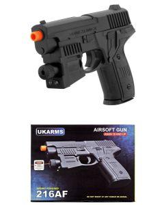 Airsoft Gun - 216AF w/Laser