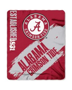 NCAA University Of Alabama - Crimson Tide Throw Blanket