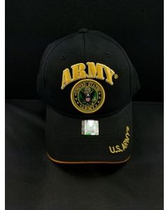 United States Army  Hat with U.S. ARMY Seal logo A04ARM03-BK/GD