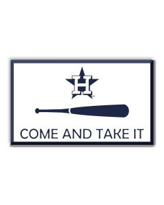 MLB Houston Astros - Come and Take It Auto Emblem
