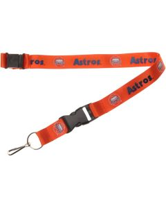MLB Houston Astros Copperstown Lanyard - Orange