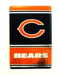 NFL Chicago Bears Tin Sign