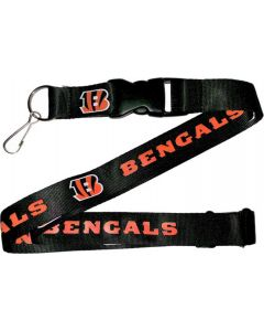 NFL Cincinnati Bengals Lanyard - Black