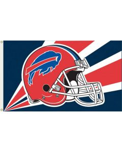 NFL Buffalo Bills Flag - Helmet 3 x 5