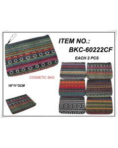 Make Up Bag - SouthWest BKC-60222CF SOLD BY THE DOZEN