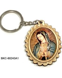 KC (Keychain) Guadalupe BKC-60243A1 SOLD BY THE DOZEN