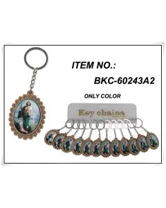 KC (Keychain) ST. Jude BKC-60243A2 SOLD BY THE DOZEN