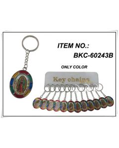 KC (Keychain) Guadalupe BKC-60243B SOLD BY THE DOZEN