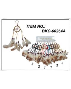 KC (Keychain) BKC-60264A Dream Catcher SOLD BY DOZEN