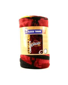 NBA Cleveland Cavaliers Fleece Throw Blanket