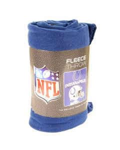 NFL Indianapolis Colts Fleece Throw Blanket