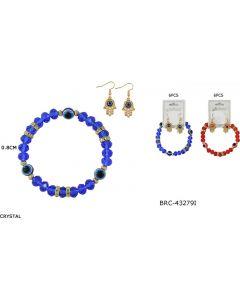 Bracelet - Eye/Hand Set BRC-432791 SOLD BY THE DOZEN