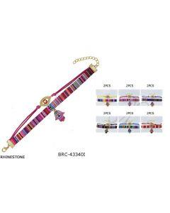 Bracelet - S.W (Hamsa Hand) BRC-433401 SOLD BY DOZEN