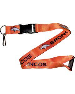NFL Denver Broncos Lanyard - Orange