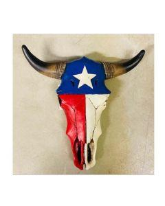 Texas Decor - Poly Longhorn Skull SM YC201246Y