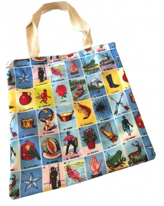 Loteria Canvas Bag One Sided
