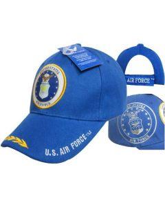 AIR FORCE HAT SEAL LEAVES BL CAP603B