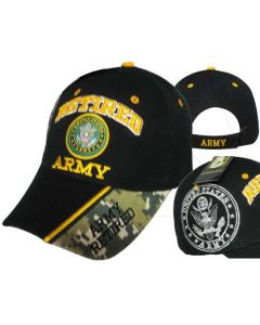 United States Army Retired Hat-BK CAP591