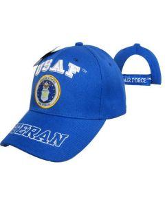 United States Air Force Hat - USAF/Seal w/VETERAN Bill CAP593DA